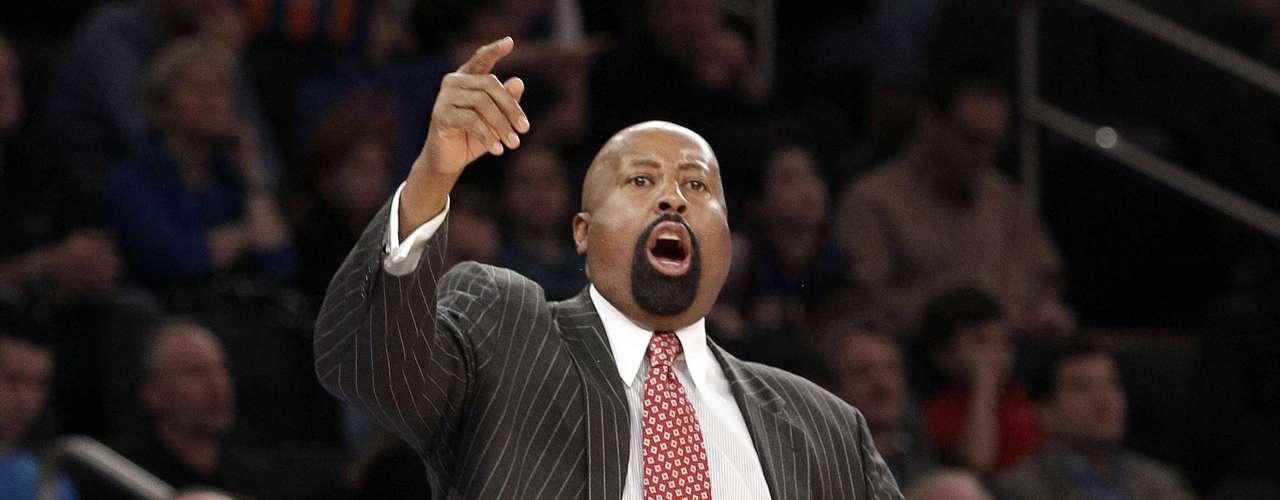 Mike Woodson, entrenador de los New York Knicks.