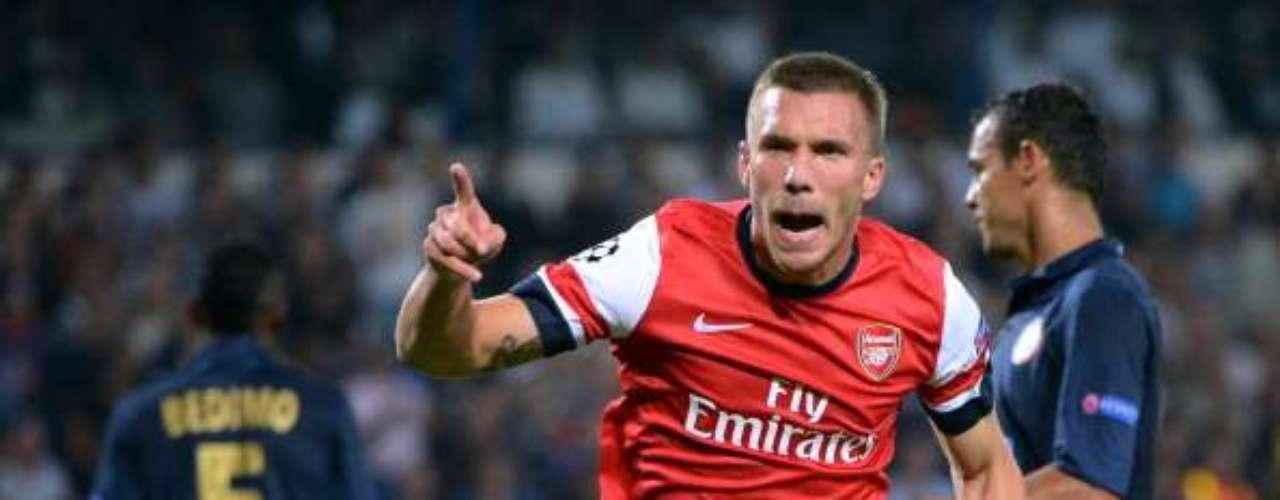 miércoles 21 de noviembre - Arsenal recibe al colero Montpellier en busca de la cima del Grupo B