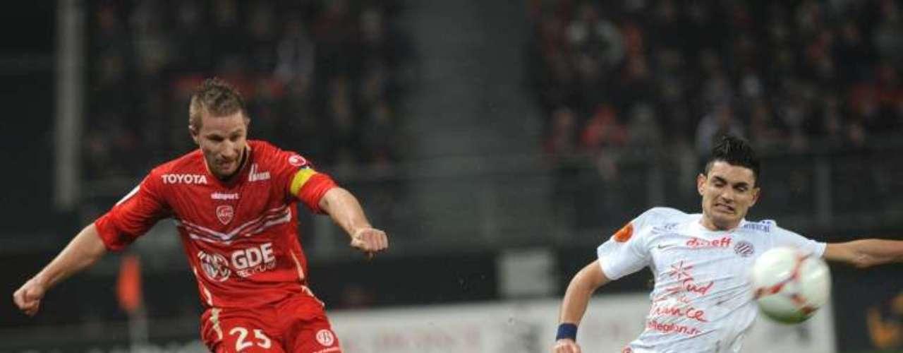 Valencienne empató 1-1 en casa ante Montpellier.