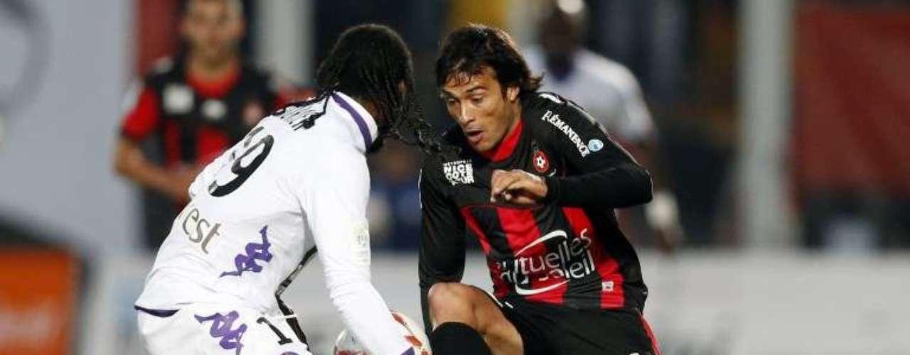 Darío Cvitanich anotó el gol del triunfo de Niza 1-0 sobre Toulouse.