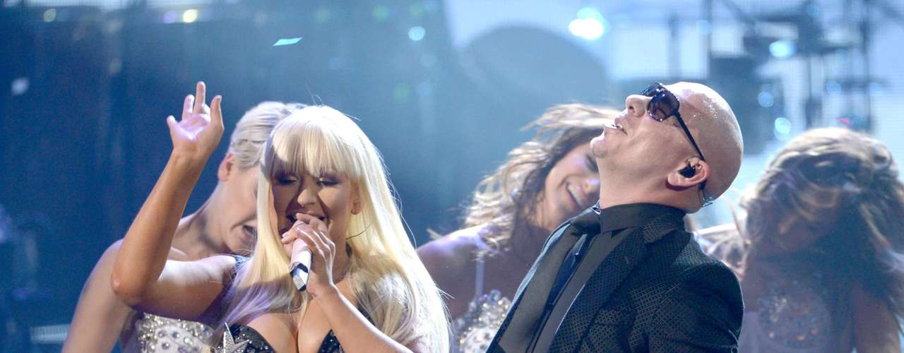 WORST: We were so angry when Christina Aguilera joined Pitbull on stage for their duet \