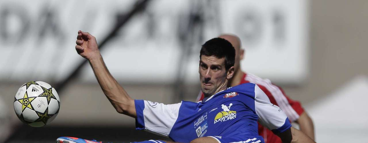 Djokovic scored a second goal.