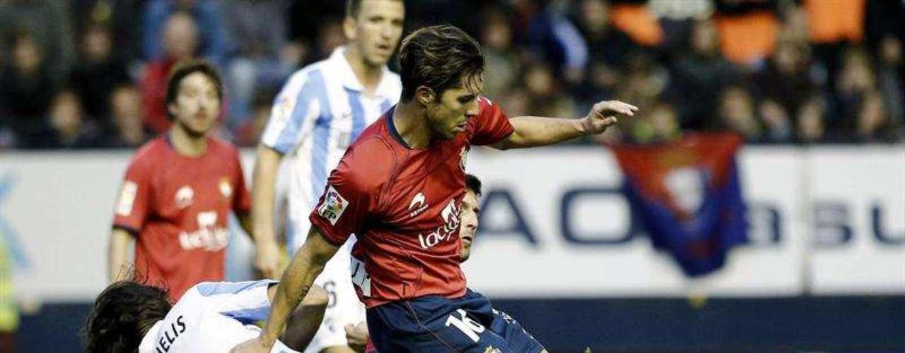 Osasuna y Málagra protagonizaron el único 0-0 del fin de semana.