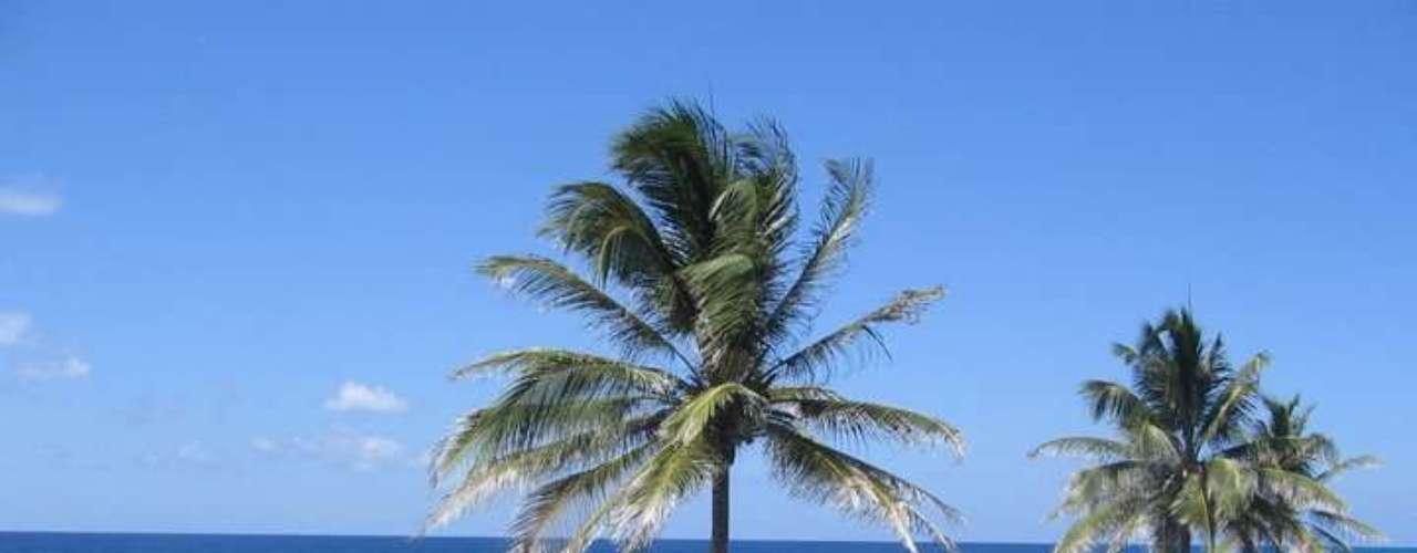 Las artesanías en coco y totumo son muy comunes en la isla.