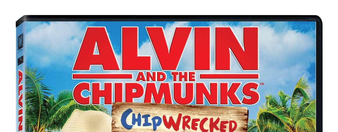 ALVIN AND THE CHIPMUNKS: CHIPWRECKED. Las ardillas favoritas de todo el mundo, Alvin, Simon y Theodore, junto a sus compañeras del sexo femenino, las Chipettes, se divertirán en grande durante unas vacaciones familiares que jamás olvidarán en ALVIN AND THE CHIPMUNKS: CHIPWRECKED, que debutará en Blu-ray, DVD y descarga digital el 27 de marzo a través de Twentieth Century Fox Home Entertainment. La hilarante comedia con actores reales también estará disponible en una emocionante edición especial, \