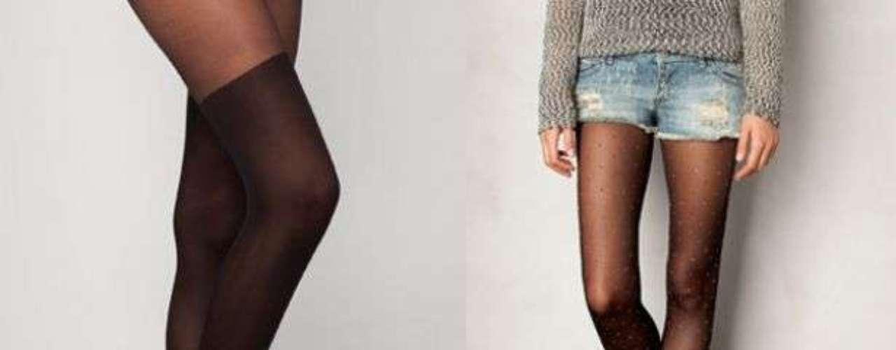 Las de bolitas son las más buscadas, utilízalas con vestidos, faldas o shorts y de preferencia combínalas con flats o tacones cerrados, pues son más femeninas.