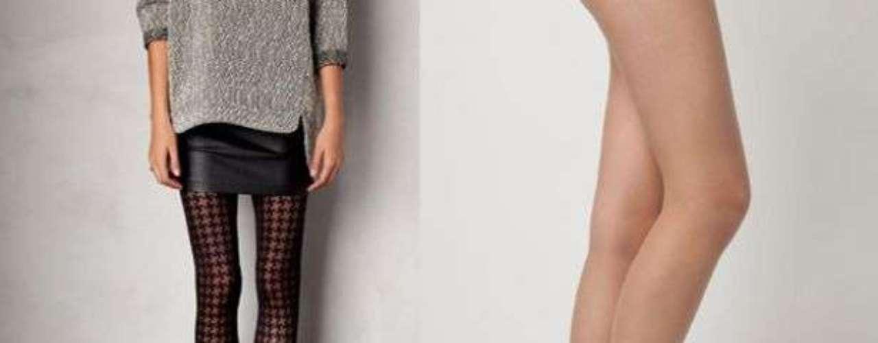 Las más gruesas utilízalas con botas y blusones, añade una bufanda para tener el mejor look otoñal.