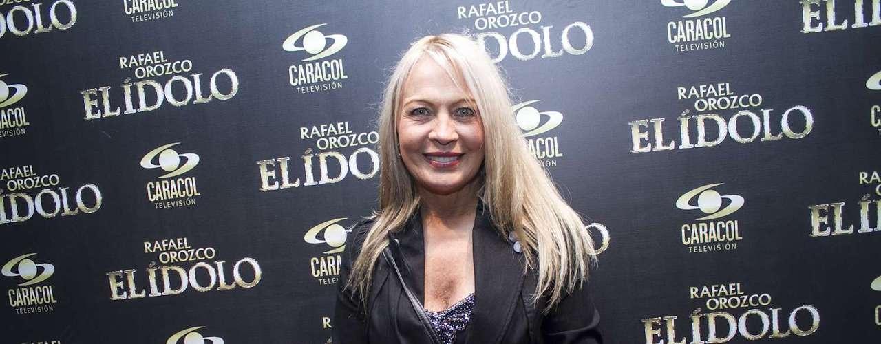 Miriam de Lourdes realizará el papel de la mamá de Rafael Orozco.