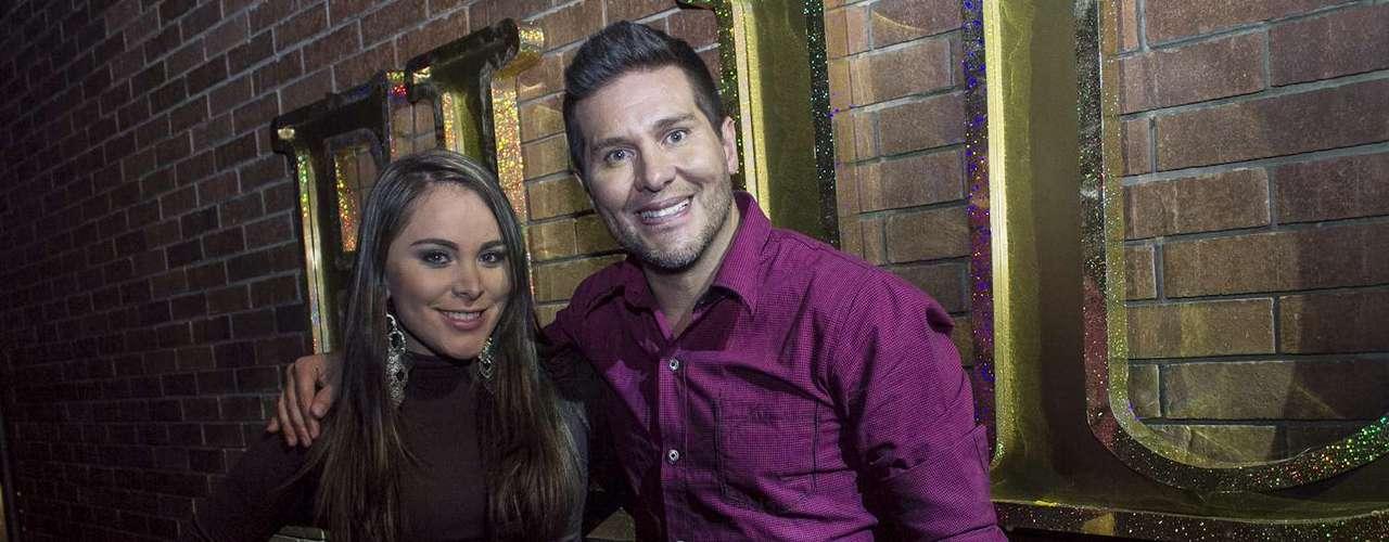 El actor y presentador Marcelo Cesan también fue invitado especial a la noche de lanzamiento.