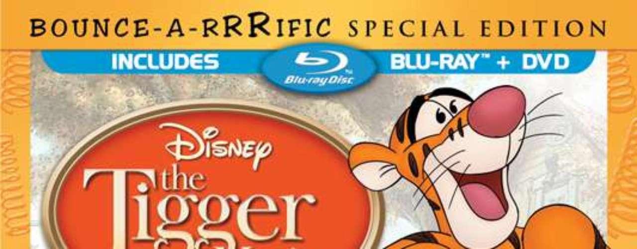THE TIGGER MOVIE: SPECIAL EDITION BLU RAY . Walt Disney Studios da vida a la magia del bosque de los cien acres con \