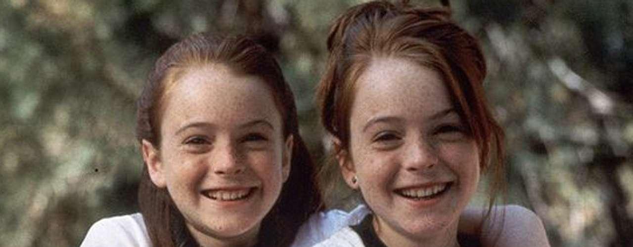 Disney catapultó a Lindsay Lohan no con un personaje, sino con dos, en la película 'Juego de Gemelas'. Su última colaboración con el canal fue 'Herbie, a Toda Marcha' (2005). (Texto: Reforma)