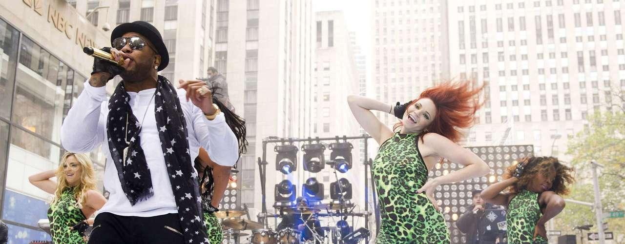 Flo Rida rocks on NBC's \