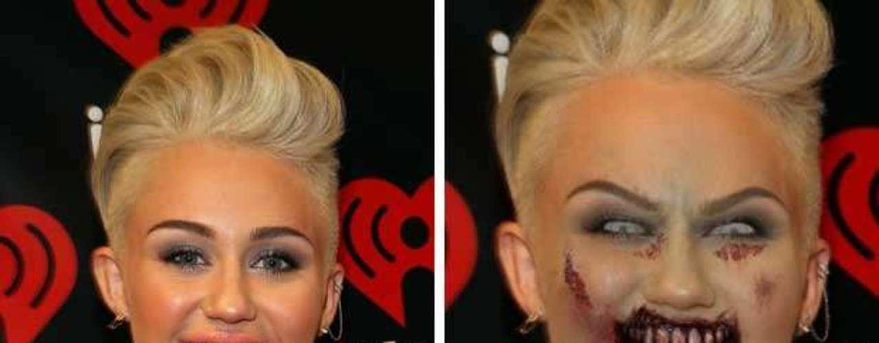 Después de tantos cambios de look hemos comenzado a pensar que Miley Cyrus está ocultando su verdadera identidad: una devoradora de humanos.