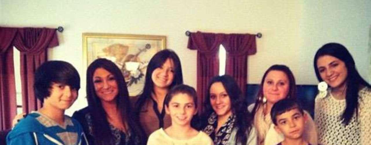 Jersey Shore y Deena Cortese pasaron el día con sus primos