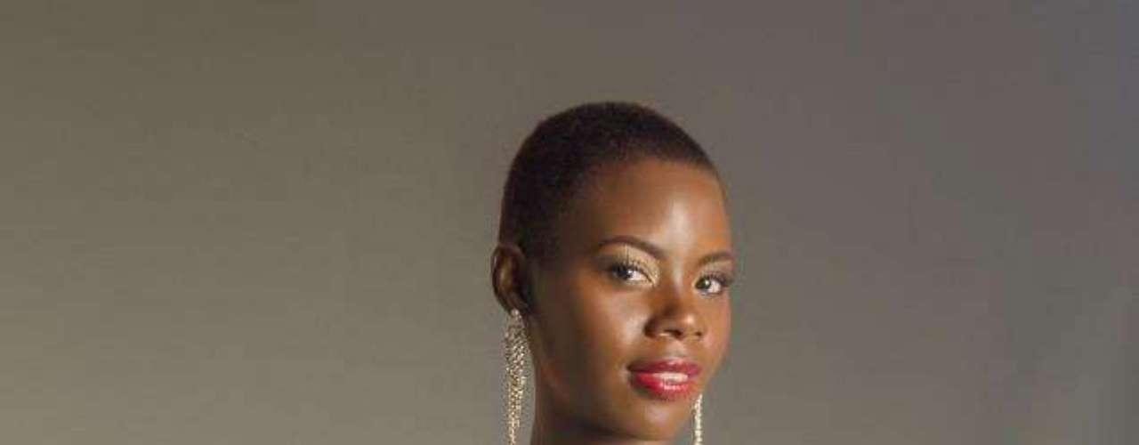 Santa Lucía - Tara Edward. Procedente de Gros Islet. Es una modelo profesional con reconocimiento en su país. Mide 1.80 metros de estatura. Su cabello es negro y sus ojos color café.