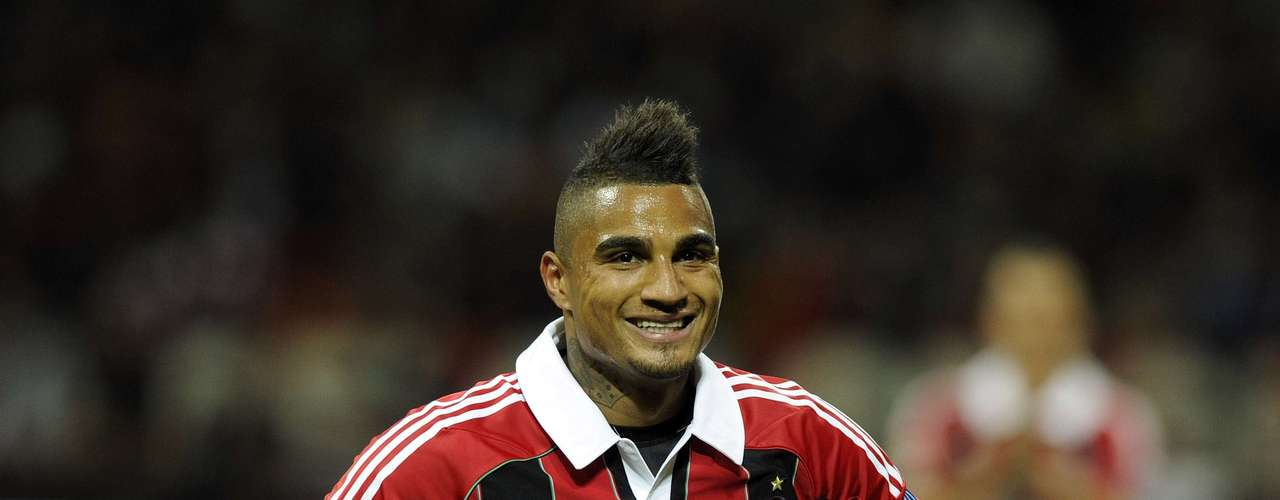 Kevin Prince Boateng has a proud collection of tattoos.