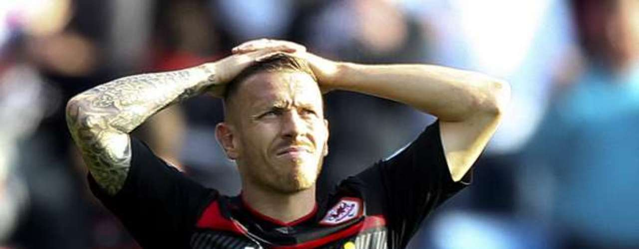 Craig Bellamy has a full sleeve on his right arm, part of which represents \