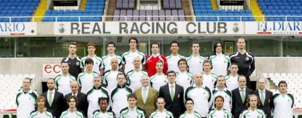 Racing de Santander descendió el ciclo pasado de la Primera División española.