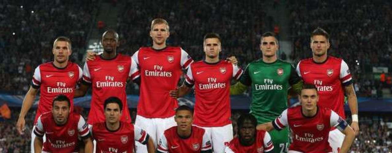 Arsenal es el conjunto más popular de Londres.