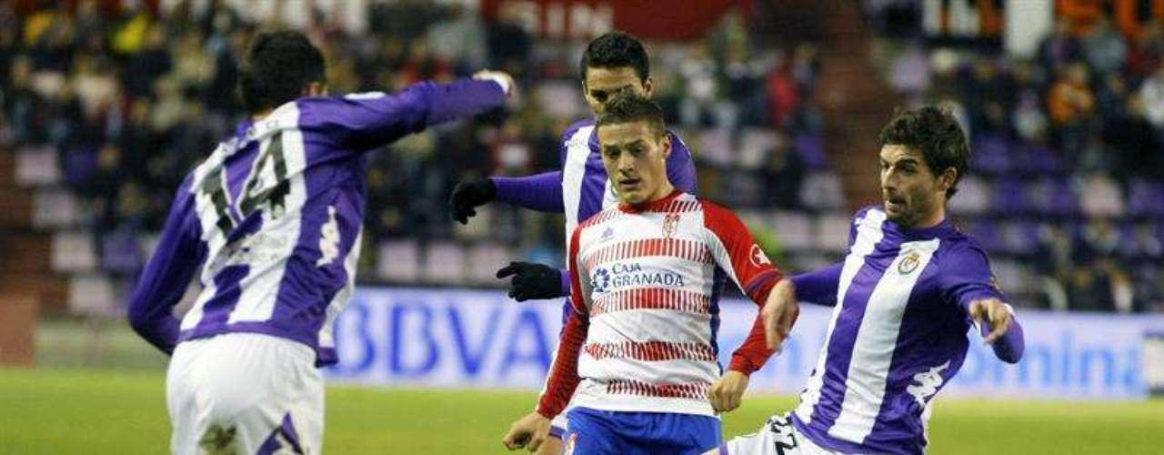 Con trabajos, pero el Valladolid dio cuenta (1-0) del Granada.