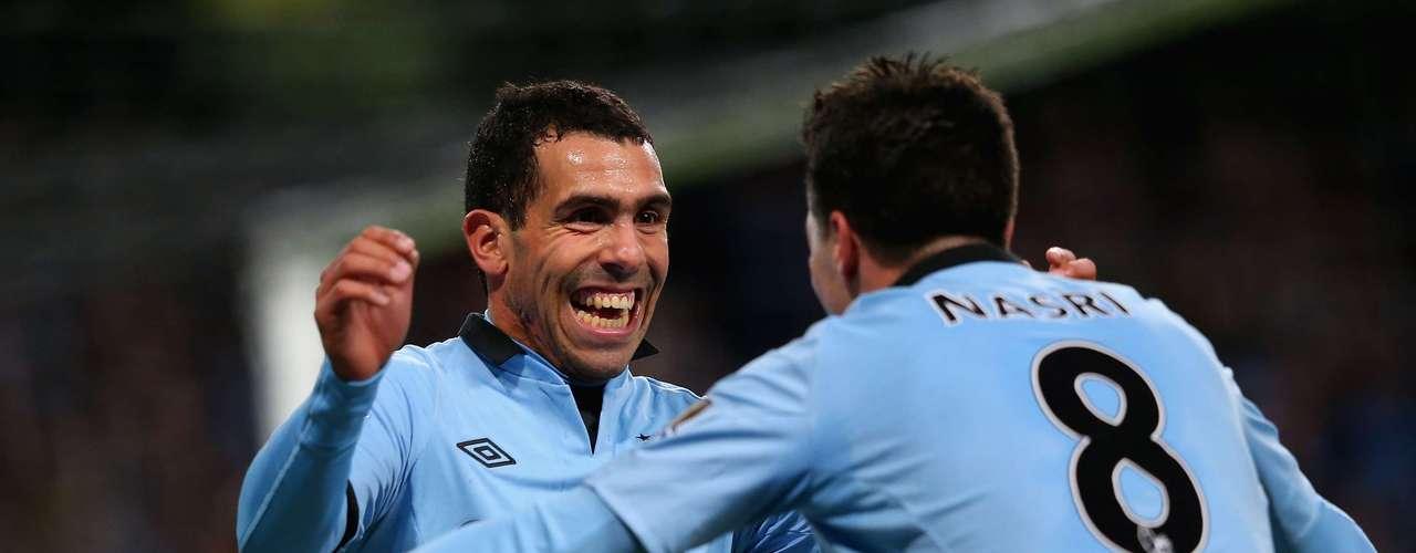 miércoles 28 de noviembre - Manchester City visita al Wigan en una fecha más de la Premier League