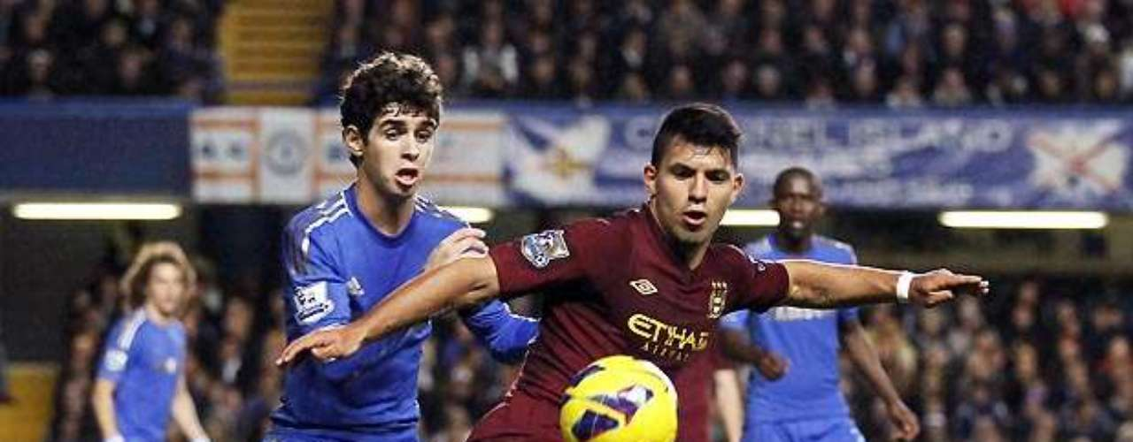 Sergio Aguero lamented a missed opportunity in Manchester City's scoreless draw against Chelsea.