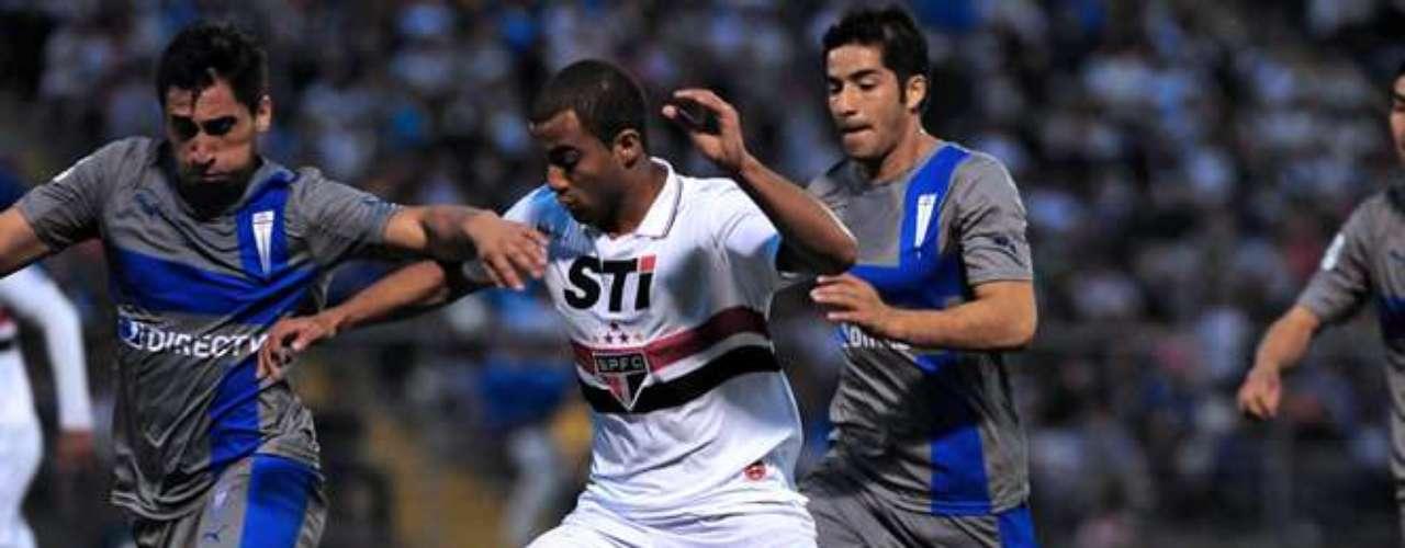 DUELO DE IDA: En San Carlos, el compromiso finalizó 1-1, lo que obliga a la UC a ganar en Brasil o empatar por dos o mas goles para clasificar. Con la igualdad a un tanto, van a penales.