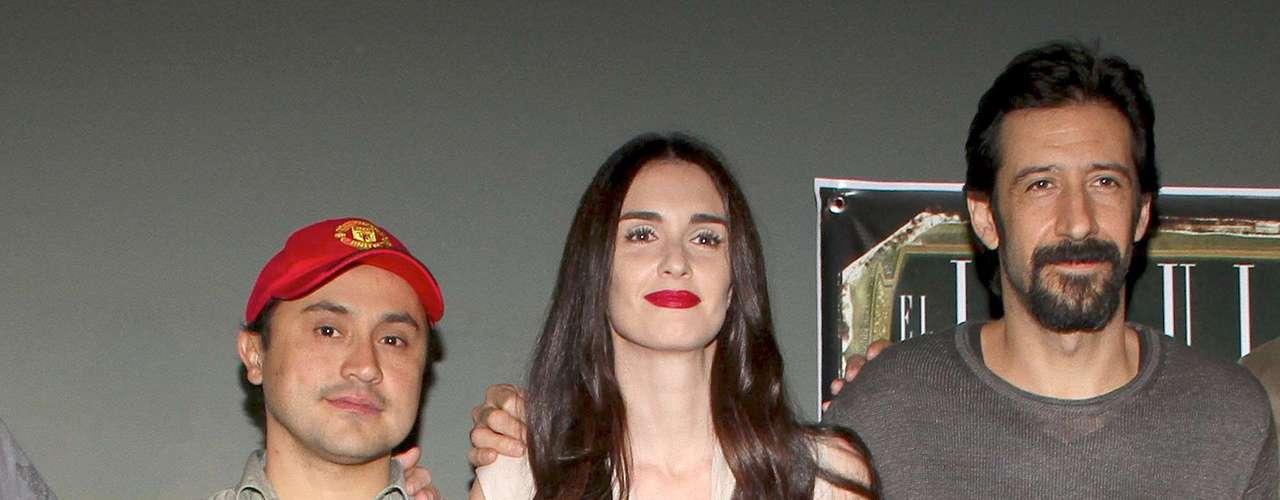 La actriz española Paz Vega está nuevamente en México filmando la película 'El Jesuita' bajo la dirección de Alfonso Pineda Ulloa y con la colaboración de José María Yazpik y Fernanda del Castillo