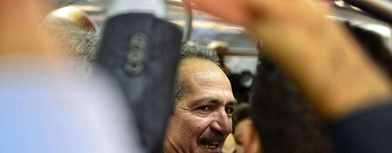 Aldo Rebelo, Ministro de deportes, estuvo presente en la visita.