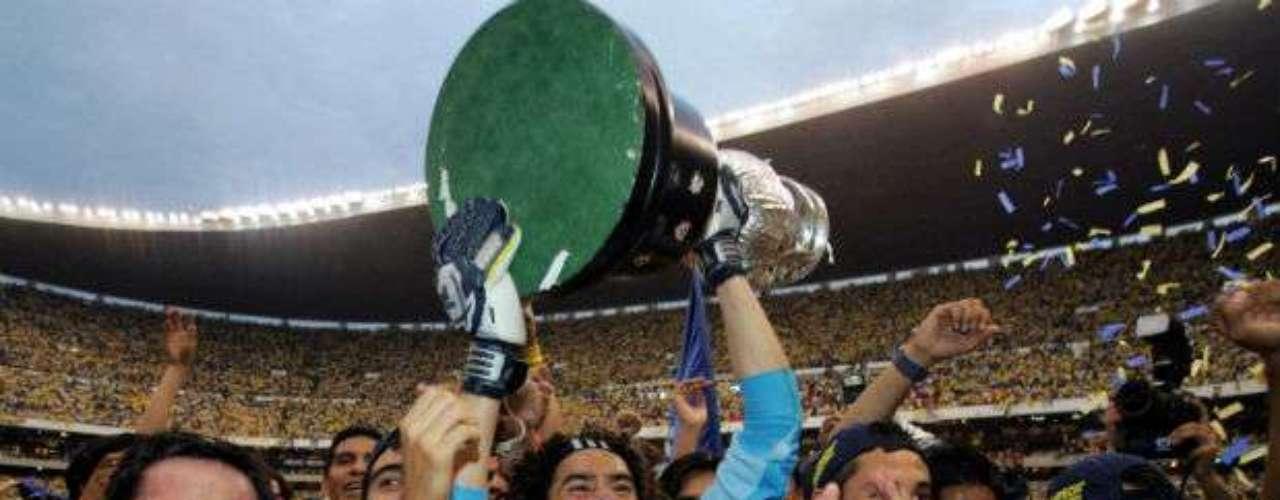 Hasta ahora el último título del América es del Clausura 2005. Las Águilas derrotaron a los Tecos por global de 7-4. Mario Carrillo ahí obtuvo su primer campeonato como DT.