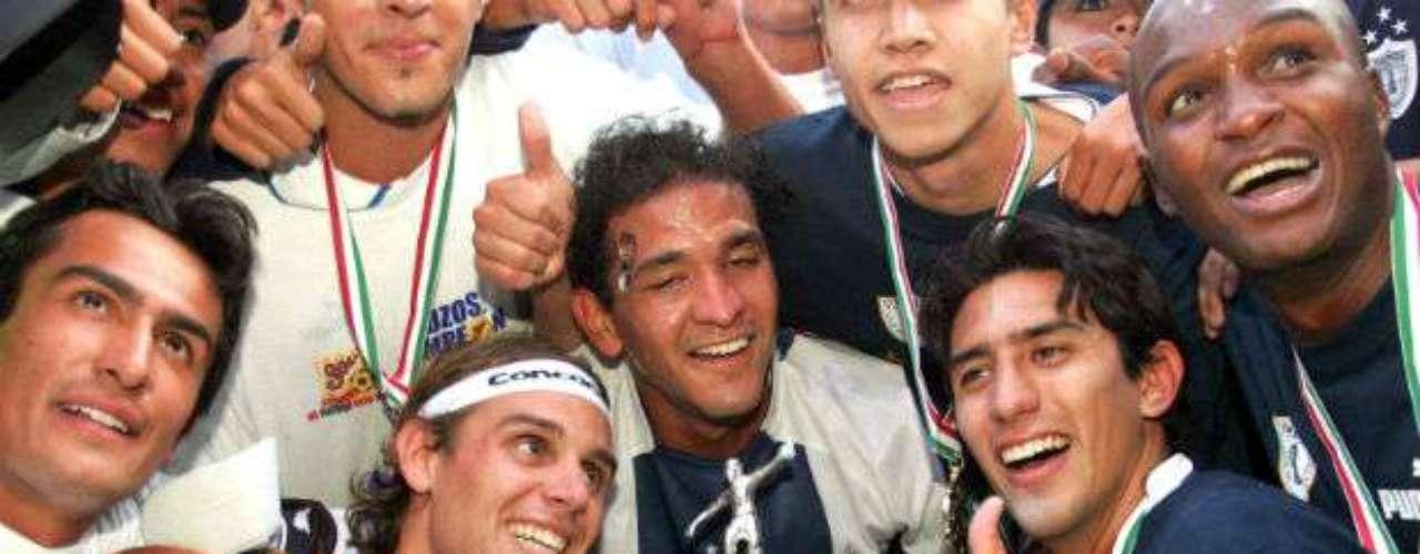 En una final muy cerrada, Pachuca dio cuenta del San Luis en el Clausura 2006 al vencerlo por 1-0. José Luis Trejo dirigía al conjunto hidalguense.