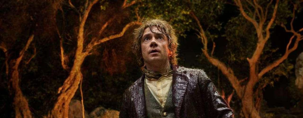 THE HOBBIT: AN UNEXPECTED JOURNEY: 14 DE DICIEMBRE.Bilbo Baggins viaja junto a un grupo de enanos de la Tierra Media para recuperar un tesoro robado por el dragón Smaug