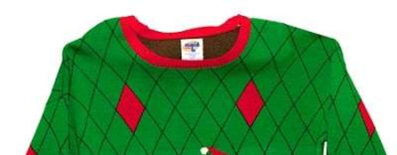 Suéter con Santa en el inodoro: un regalo que nadie quisiera recibir (ni devolver)