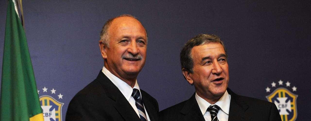 Scolari dejó en septiembre de 2012 el cargo de estratega del Palmeiras, club que perdío la categoría en días recientes.