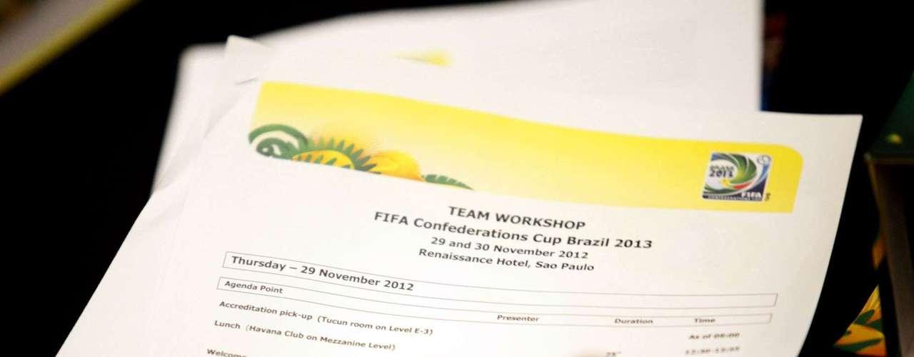 Se entregaron documentos con información en refrerencia a la logística del evento.