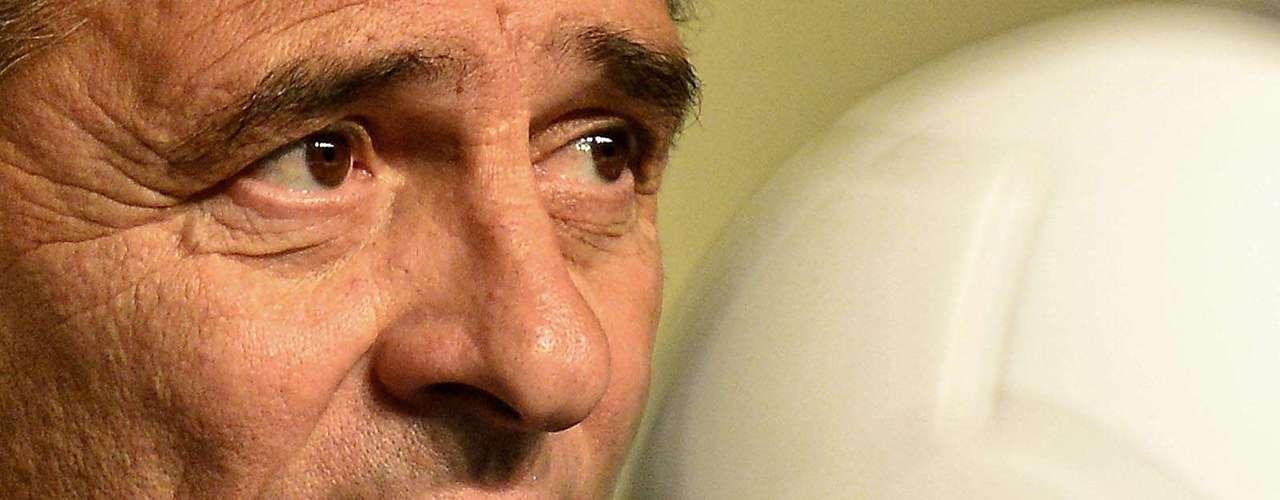 Cesare Prandelli lleva a Italia como representante de UFEA, pese a no haber ganado la Euro 2012.