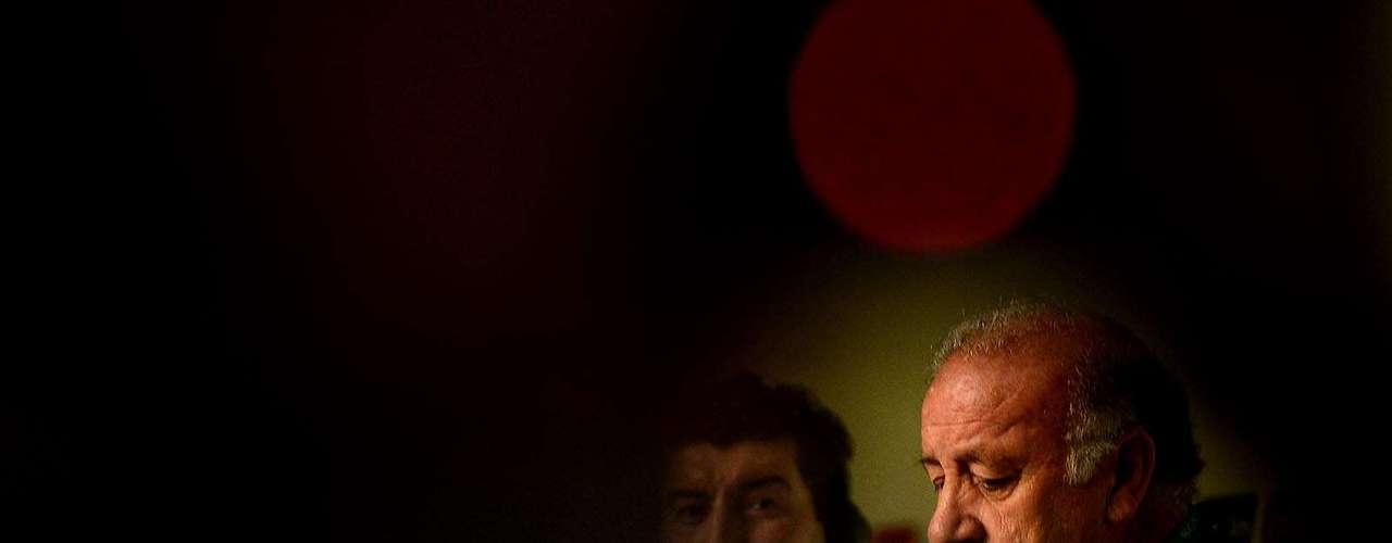 Del Bosque reconoce que Brasil es una potencia futbolística a nivel de América Latina.