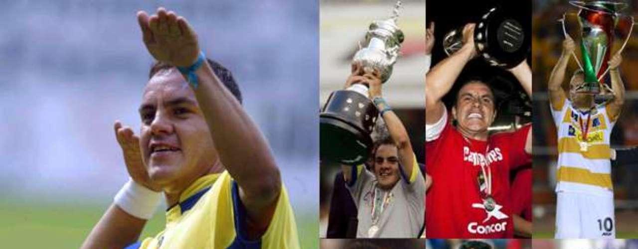 Cuauhtémoc Blanco está en el final de su carrera, pasó sus mejores años en América, club en el que fue un ídolo y es de los últimos símbolos de las Águilas y en el que debutó el 5 de diciembre de 1992 en un empate 1-1 ante León. Temoc fue campeón con el Tri en la Confederaciones 1999, con el cuadro de Coapa en el 2005, de Liga de Ascenso con Irapuato en 2011 y con Dorados fue Campeón de Copa en 2012.