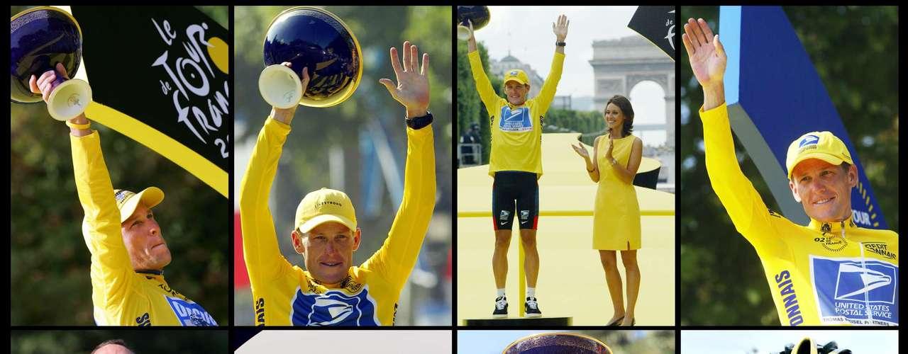Todos los trofeos conseguidos en el Tour de Francia no están más en las vitrinas de Lance Armstrong. El Cáncer del tejano lo afectó y mucha gente considera injusta la sanción para el atleta.