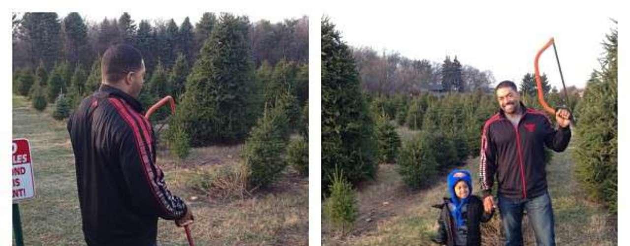 Jennifer Hudson comparte fotos con su pareja y su hijo David mientras eligen su árbol de Navidad