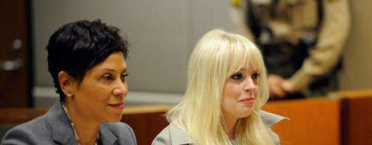 El 22 de febrero Lindsay volvió a corte como parte de su visita mensual y escuchó nuevamente comentarios favorables por parte de la juez que la felicitó por portarse bien y ya no tener problemas con el alcohol y las drogas