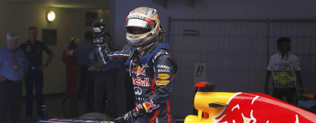 En Interlagos, también sirvió para ratificar que buena parte del éxito del germano está directamente relacionado con Adrian Newey, jefe técnico de Red Bull.