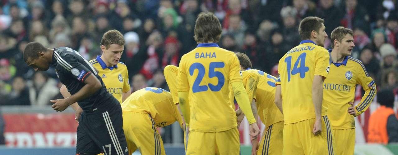 Bayern finalizó primero del Grupo E de la 'Champions League' con los mismos puntos (13) que su escolta, Valencia. Los bielorrusos, por su parte, jugarán en la Europa League.
