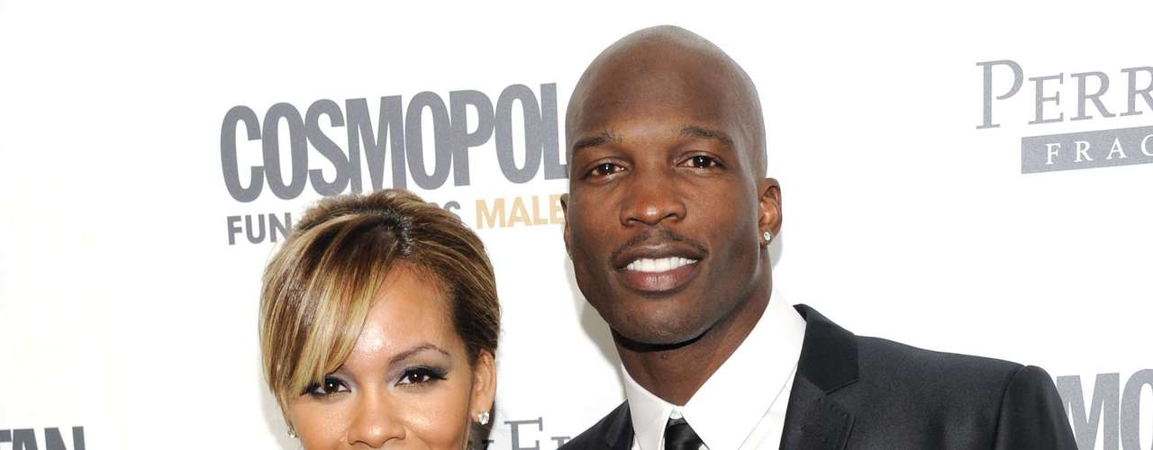 Chad Johnson and Evelyn Lozada met on a reality show and were married for a little over a month before Johnson was charged with domestic battery. The controversy was enough to get Johnson dropped from the Miami Dolphins, effectively ending his NFL career.