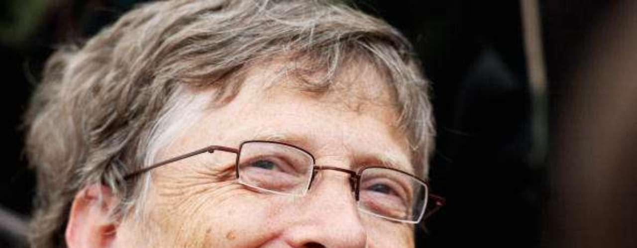 Bill Gates una vez más entre losmás poderosos del mundo según Forbes.El cofundador de Microsoft es el segundo hombre más rico del mundo según la revista Forbes, con una fortuna de 56 mil millones de dólares.