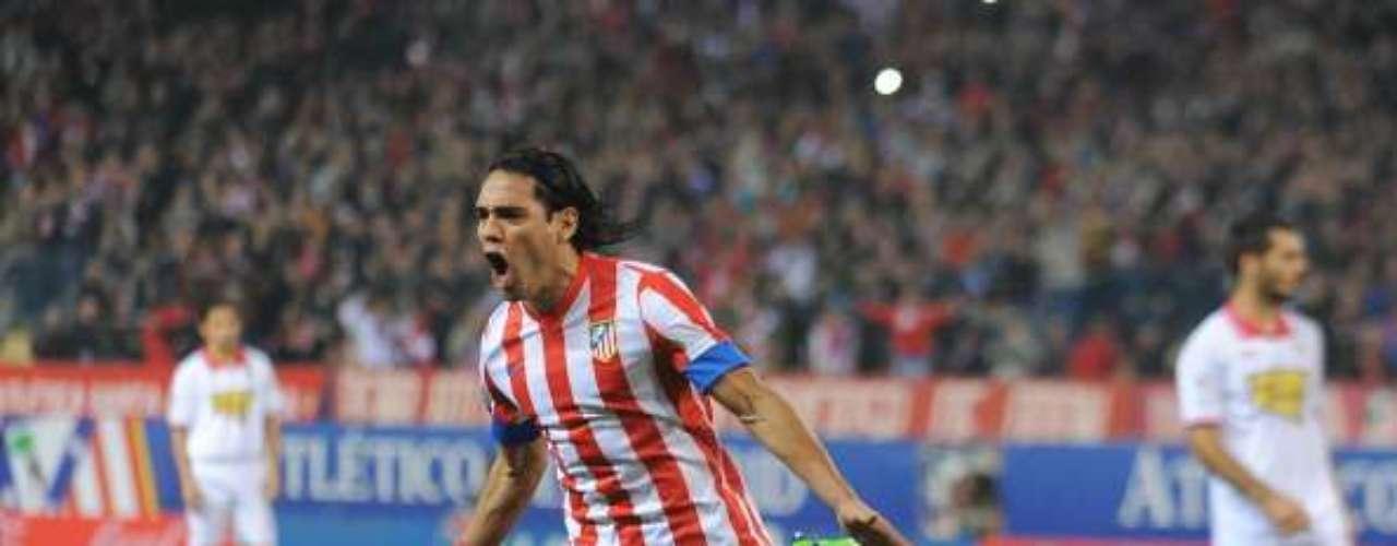 Radamel Falcao es el 'Tigre' indomable del 'Atleti'.