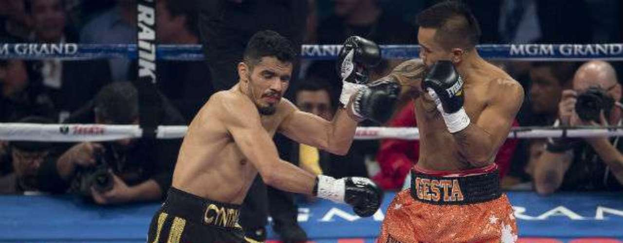 Gesta, touted as the next Pacquiao, could never connect against the quicker Mexican.