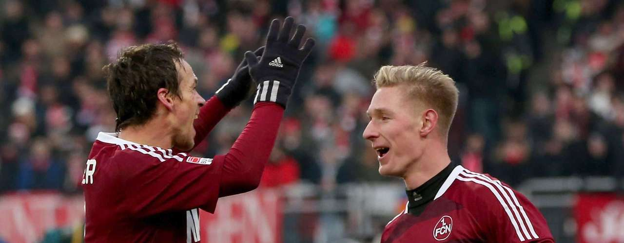 Nuremberg derrota 2-0 a Fortuna Dusseldorf