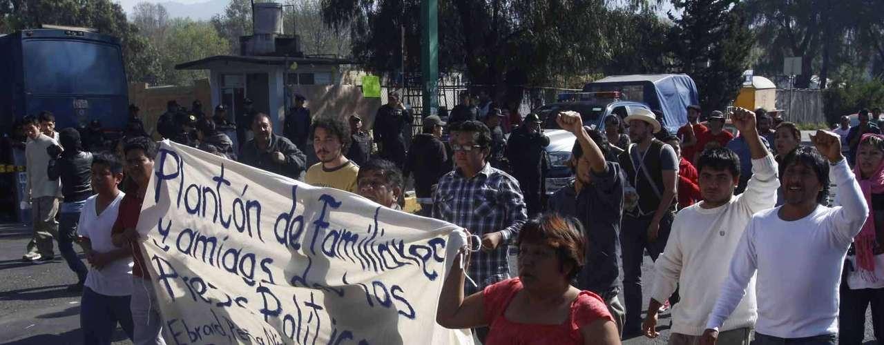De acuerdo con el expediente gráfico que las autoridades tienen muchos detenidos no fueron arrestados en flagrancia.