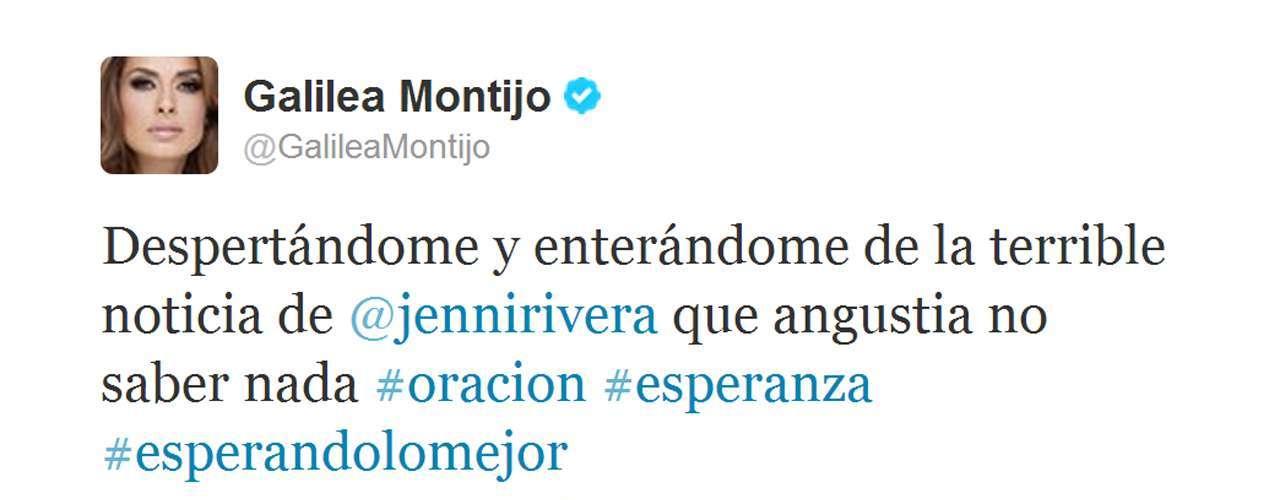 Cuando todo parecía un rumor, la conductora Galilea Montijo expresó su confusión sobre lo que aparecía en los medios.